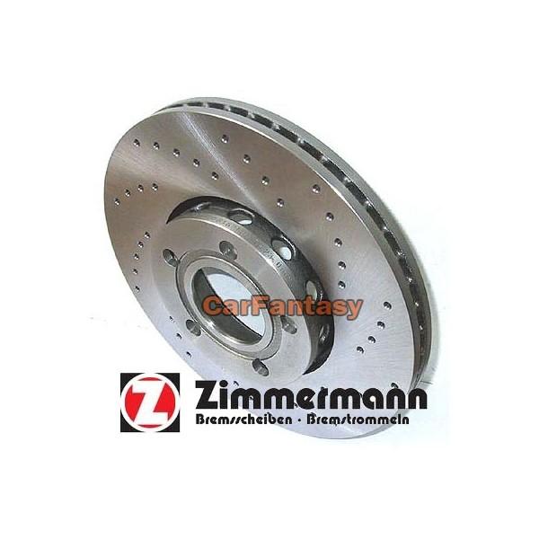 Zimmermann Performance Sport Remschijf Audi 80/90 Quattro 9.91 -